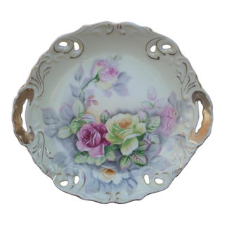 Meissen Floral Shallow Bowl