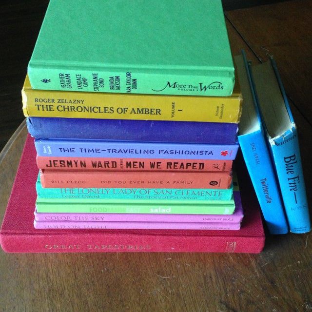 Brightly Colored Decorative Books - Set of 13 - Image 5 of 11