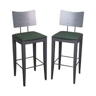 Tenon Italian Modern Bar Stools -- A Pair