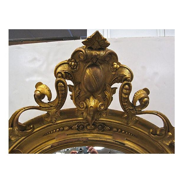 19th C. Gold Gilt Pier Mirror - Image 3 of 7