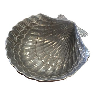 Pewter Seashell Bowl