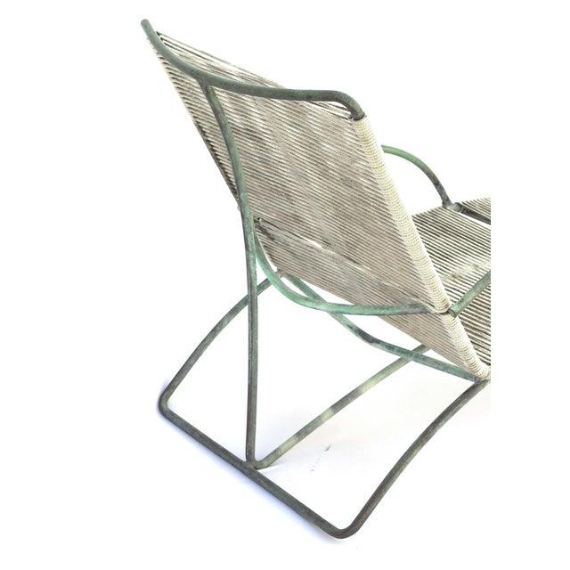 1950s bronze walter lamb patio chaise lounge chairish for Bronze chaise lounge