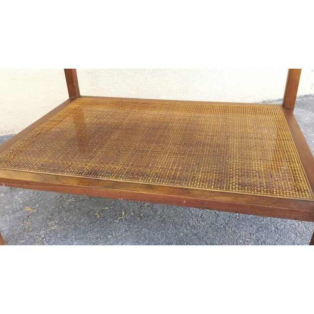 Image of Mid-Century Two-Tier Cocktail Side Table