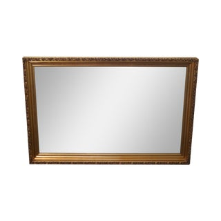 Gilt Frame Beveled Mirror