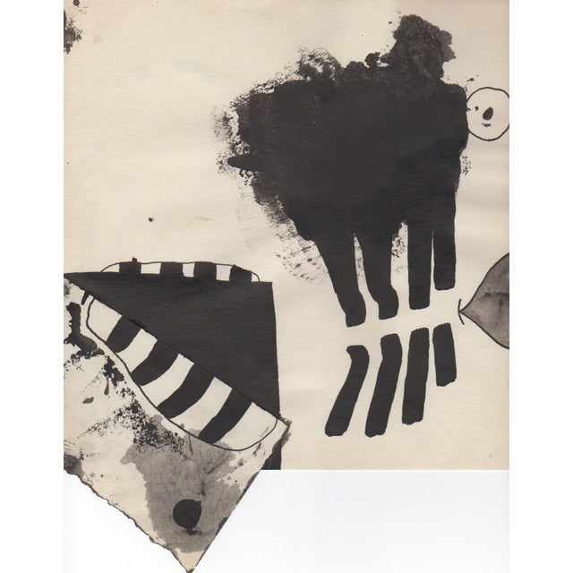 Lot of 4 Original B&W Abstract by Bill Geiss 1963 - Image 5 of 5