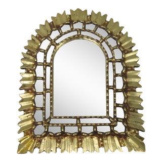 Giltwood Sunburst Mirror
