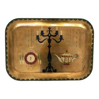Vintage Georges Briard Tole Tray
