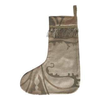 Custom Textile Christmas Stocking