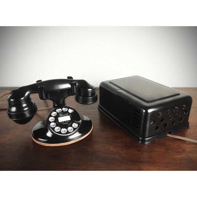 1930s Refurbished Deco Working Telephone - Image 2 of 4