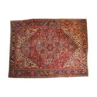 Vintage Heriz Carpet - 9' x 12'