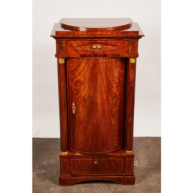 19th Century Danish Mahogany Empire Cabinet - Image 5 of 11