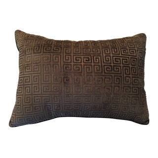 "Velvet ""Keys"" Pillow"