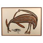 """Image of Timothy Akis """"Spirit Wallaby"""" Signed Lithograph"""