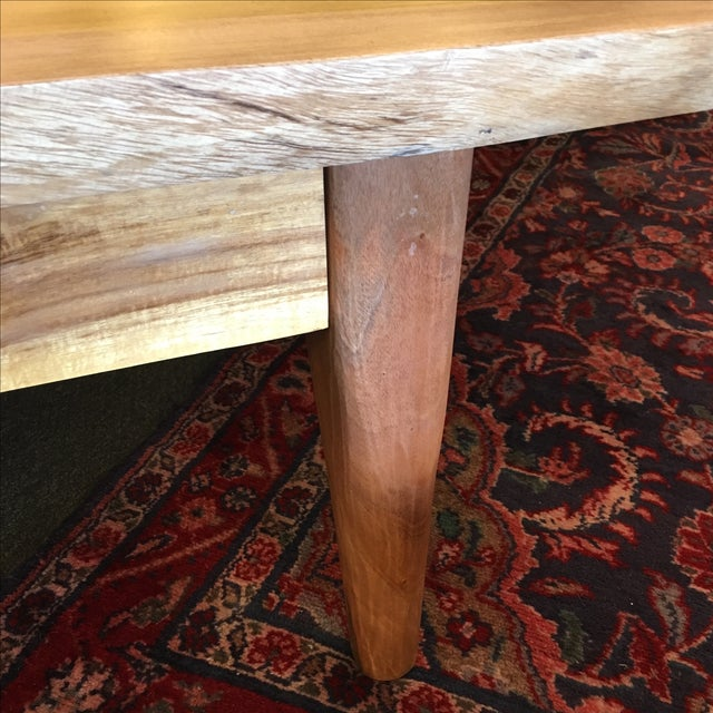 Salvaged Wood Cocktail Table - Image 8 of 10