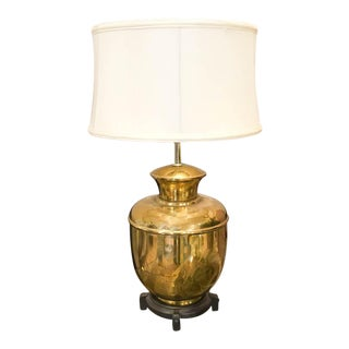 Deco Asian Brass Table Lamp