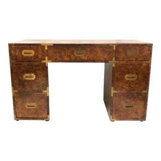 Campaign Style Desk att. to Henredon