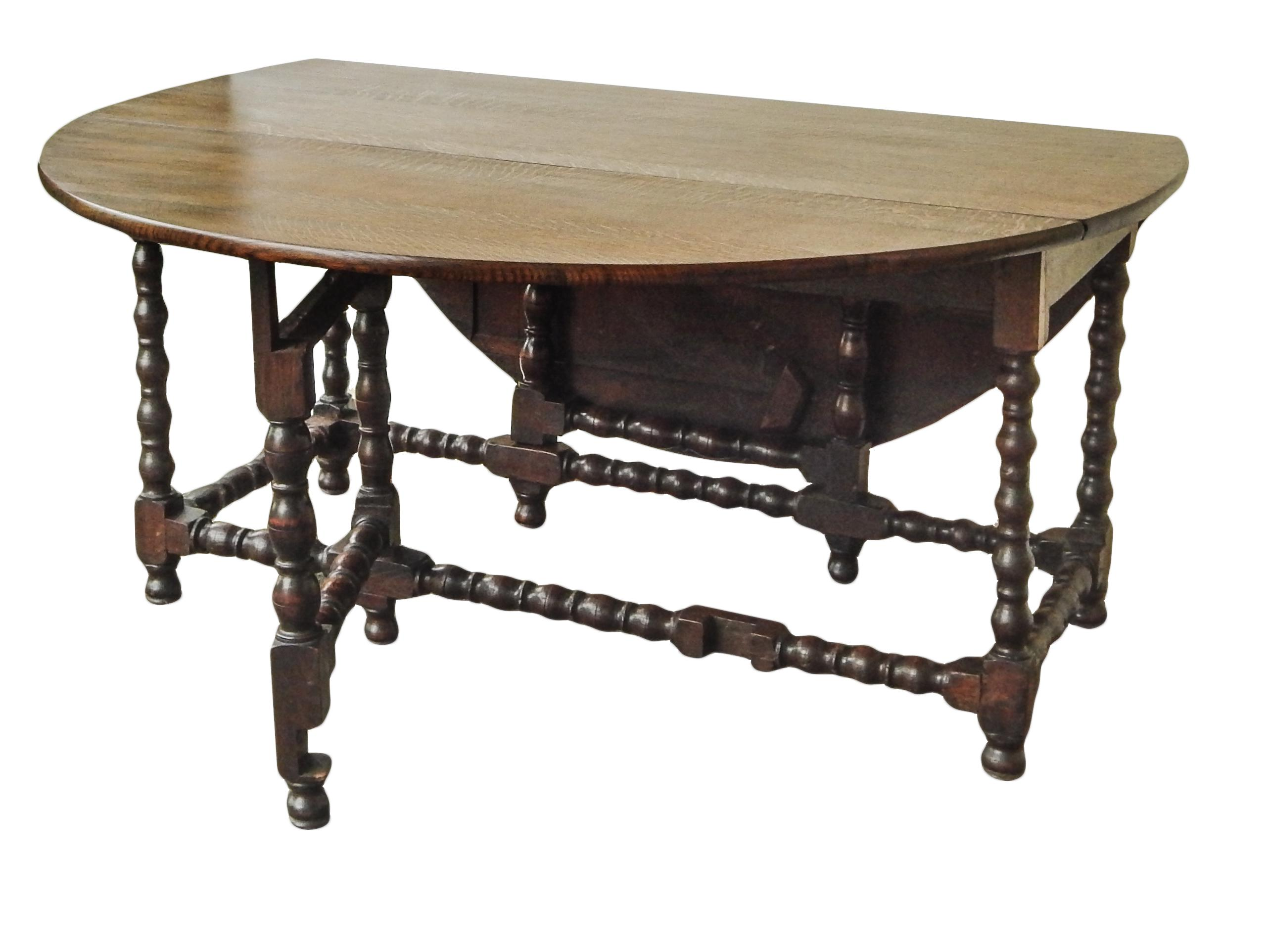 Oak Drop Leaf Gateleg Table   Image 8 Of 11