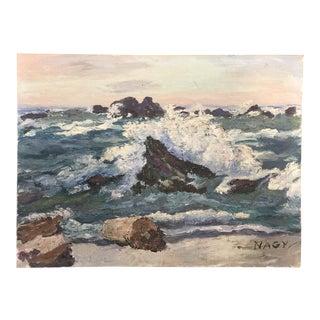 Seascape #1 Oil on Canvas Board