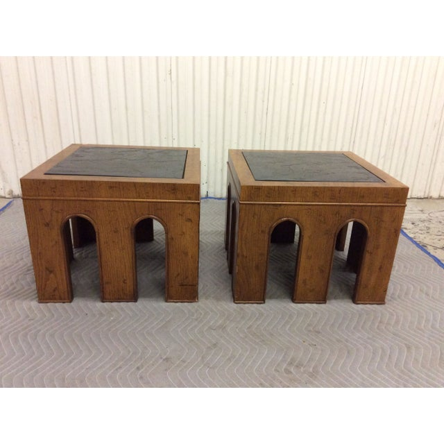 1960s Side Tables by Drexel - A Pair - Image 4 of 11