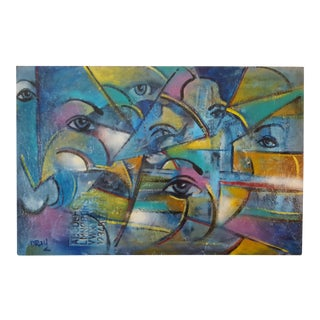 Original Abstract Painting by Dray