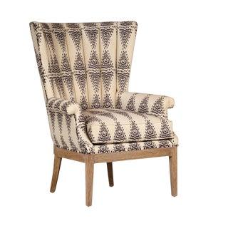 Aztec Pattern Arm Chair