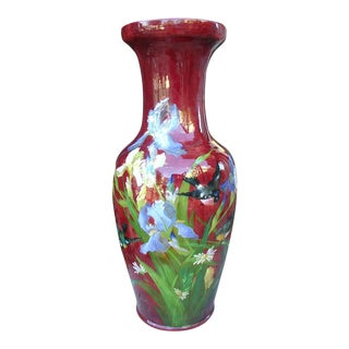 Antique Grande 'Bourg La Reine' Vase