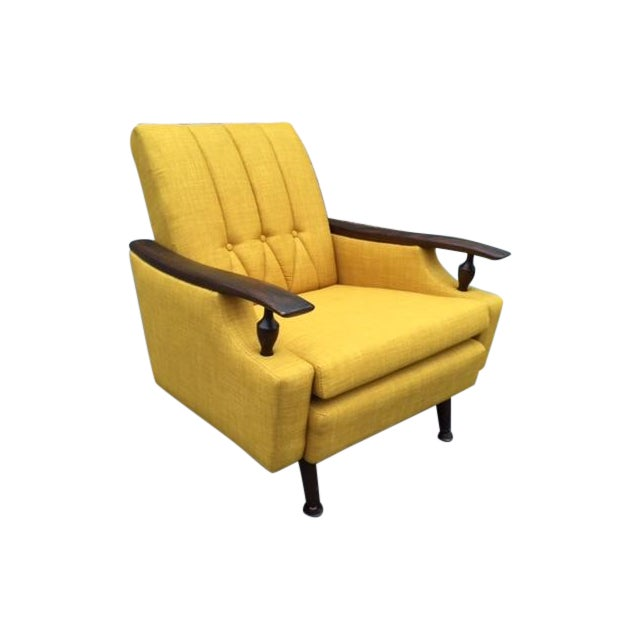 Mid-Century Atomic Lounge Chair - Image 1 of 3