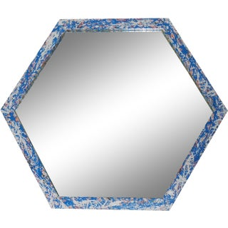 Artistic Six Sided Mirror