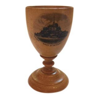 Mauchline Ware Egg Cup