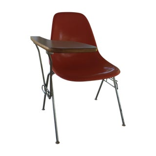 Eames Molded Shell Stacking Chair With Tablet Arm