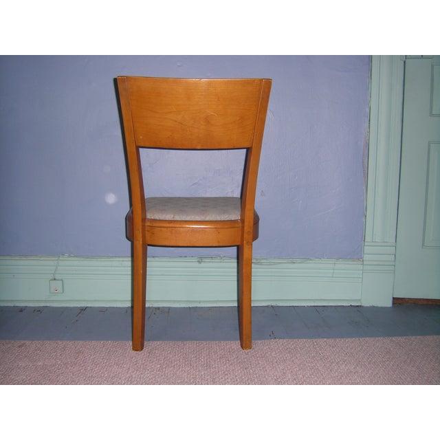 Heywood Wakefield Keyhole Desk & Chair - Image 8 of 11