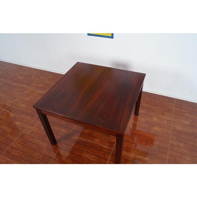 Image of Vintage Rosewood Side Table