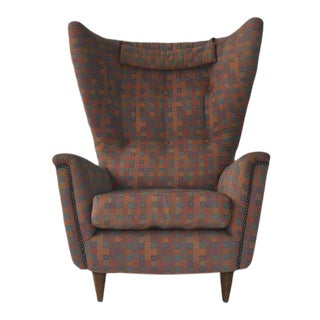 1950s Wingback Chair