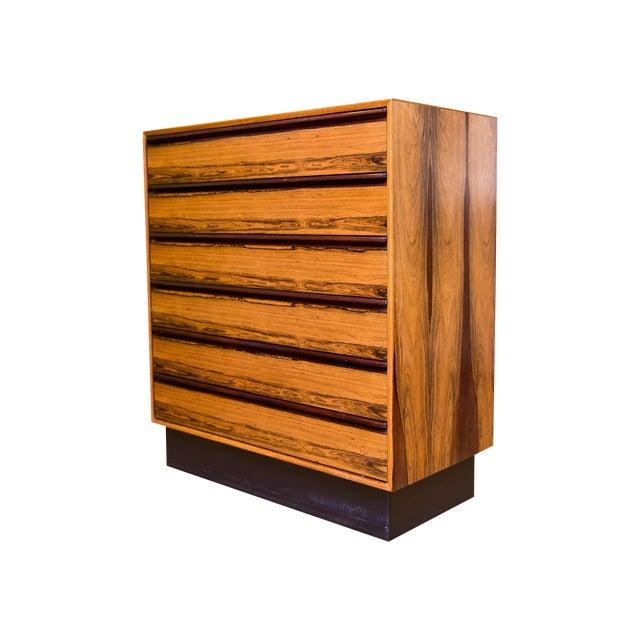 Mid Century Westnofa Rosewood Highboy Dresser - Image 1 of 11