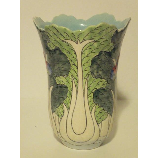 Image of Antique Oriental Celery Vase