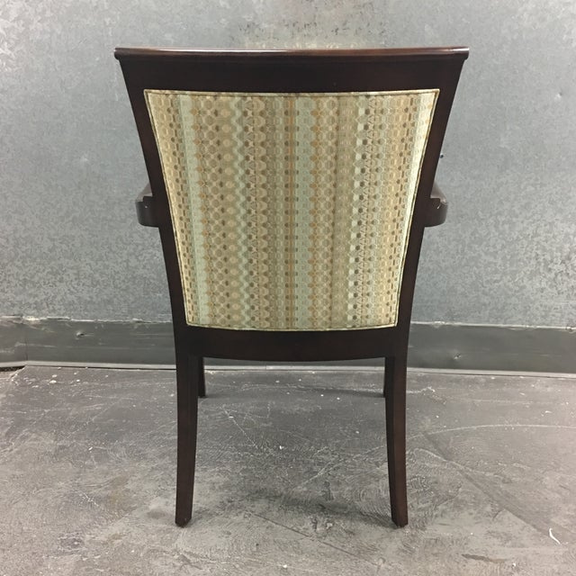 Hickory Geometric Upholstered Sticking Chair - Image 5 of 7