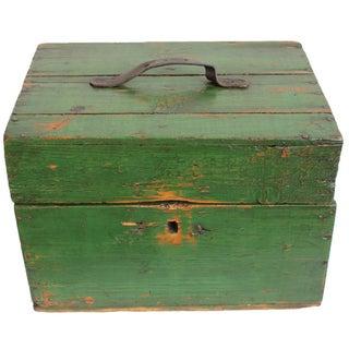 Hungarian Green Storage Box