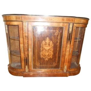 Louis XVI Sideboard Display Credenza