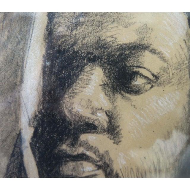 Framed Pencil Drawing by David Eugene Henry - Image 3 of 8