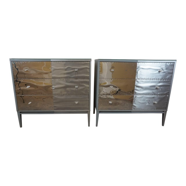 Paul McCobb Planner Group Brutalist Revision Dressers - A Pair - Image 1 of 10