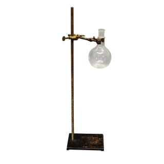 Vintage Pharmacy Glass With Stand