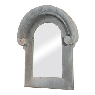 Very Large Scale Zinc Architectural Element as a Mirror Frame