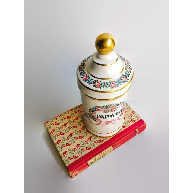 Vintage Apothecary Ceramic Opium Canister/Jar - Image 4 of 7