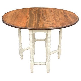 Queen Anne-Style Gateleg Table