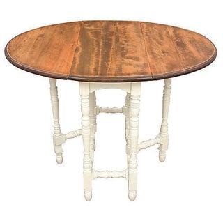 Queen Anne-Style Gateleg Table