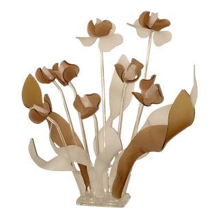 Le Favre Mid-Century Lucite Bouquet