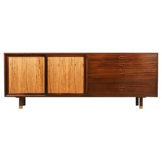 Mahogany and Bleached Rosewood Cabinet by Harvey Probber