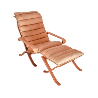 Ingmar Rellig Folding Chair and Ottoman