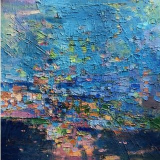 Jenny Vorwaller 'Wash Away' Abstract Painting