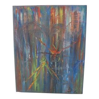 """Original Oil Painting """"The Edge"""""""